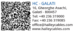 Halley Cables - Galati Office