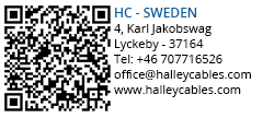 Halley Cables - Sweden